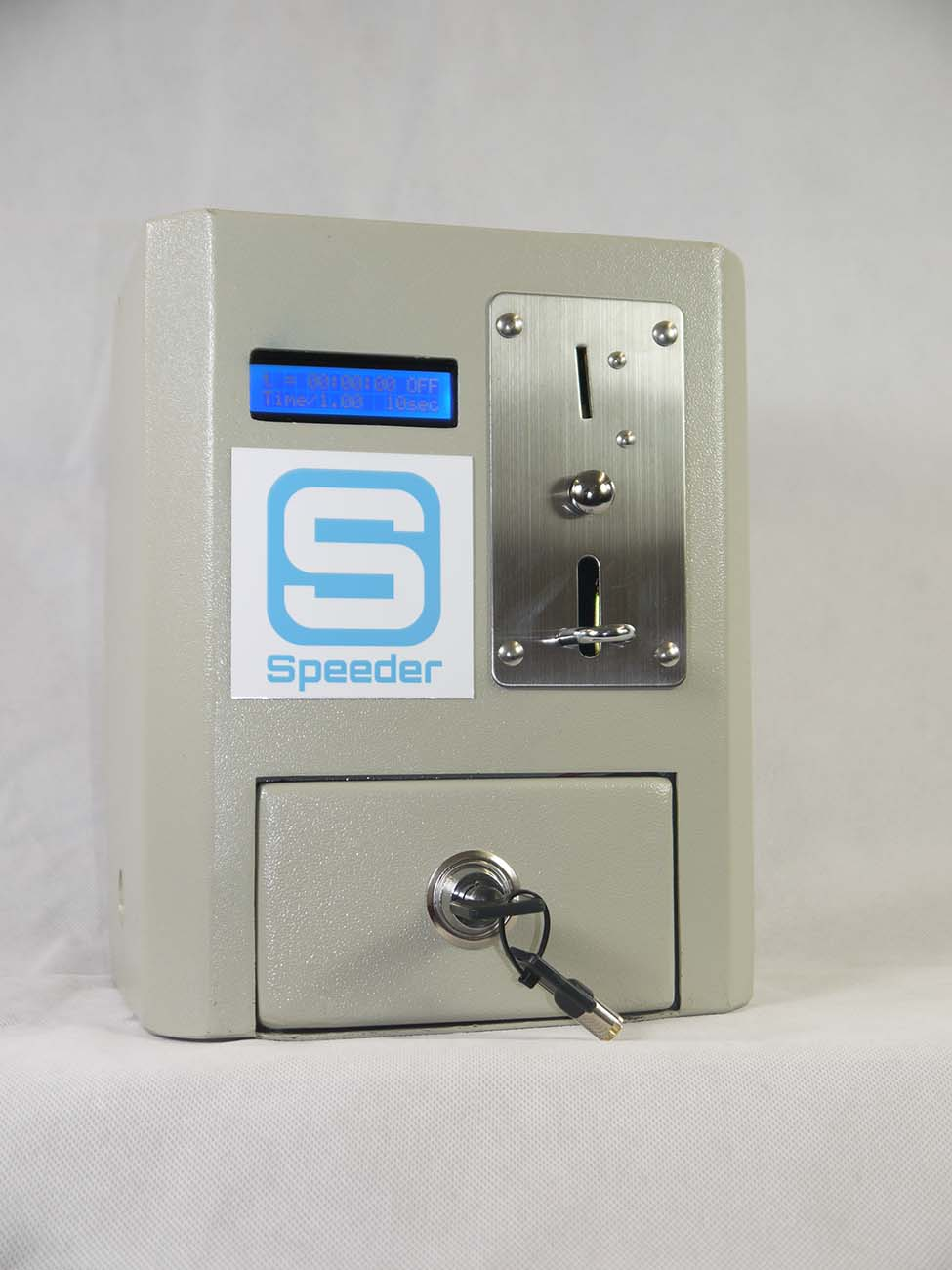 SP100PA Coin Timer Entry or Exit Box