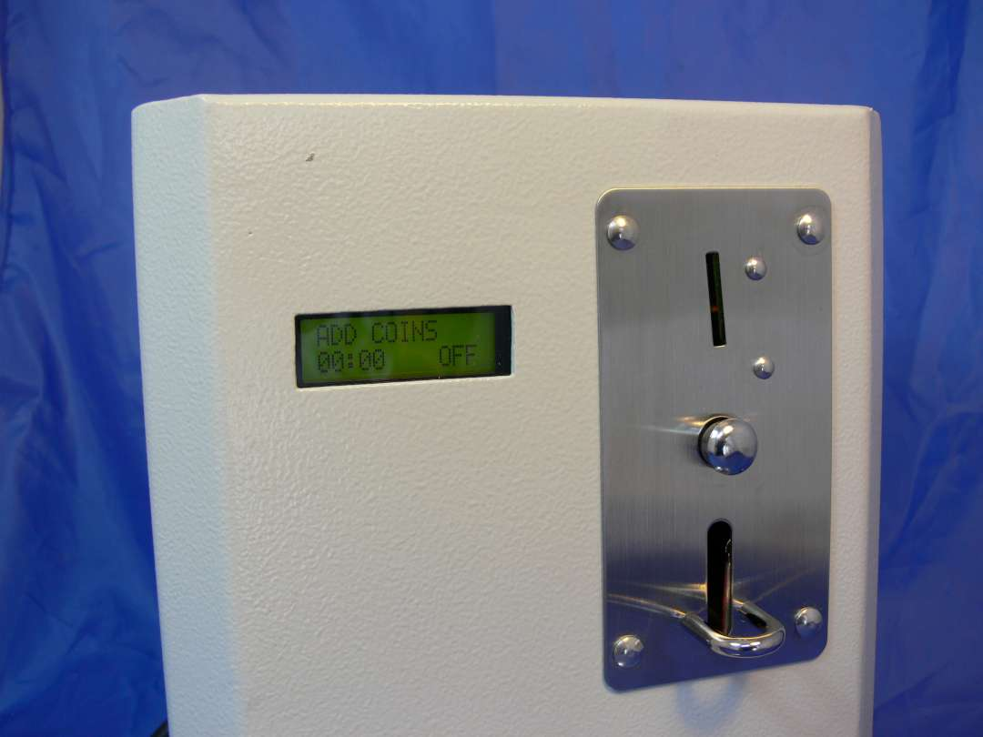 SP107 Sunbed Token Timer Top